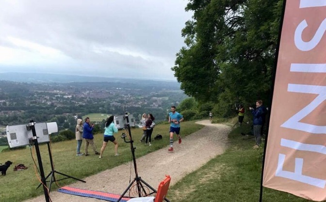Salomon Sunset Series – Box Hill, London